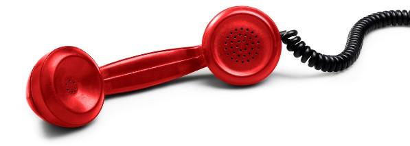 red telephone image